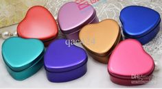 Wholesale Wedding Gift - Buy Heart-shaped Tin Box Candy Box Packaging Gift Ideas Personalized Wedding, $2.15 | DHgate