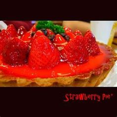 """For a new and different pie, try """"French Strawberry Pie"""""""