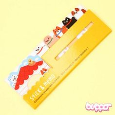 Kawaii Mix Note Stickers - Dogs | Blippo Kawaii Shop