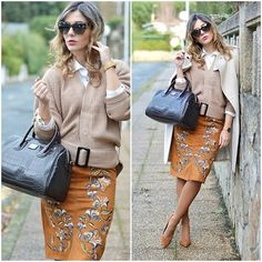 Get this look: http://lb.nu/look/7965602  More looks by Ma Petite By Ana: http://lb.nu/mapetitebyana  Items in this look:  Chic Wish Skirt, Sheinside Jacket, Alain Afflelou Ferrolterra Sunglasses   #classic #elegant #vintage #streetstyle #ootd #lookoftheday #fashionblogger #pencilskirt #skirt