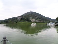 Lago do Sesc Quitandinha.