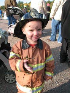 Kids Fireman Halloween Costumes