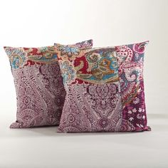 Jamawar Design Pillow Set of 2 - Free Shipping On Orders Over $45 - Overstock.com - 17633957