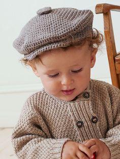 Få en hækleopskrift på en kæk sixpence til mindste-manden Newborn Crochet, Crochet Baby, Crochet For Kids, Free Crochet, Flower Granny Square, Chrochet, Diy Baby, Crochet Clothes, New Moms