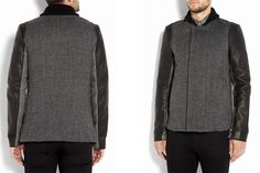 3.1 Philip Lim Grey Tweed Coat