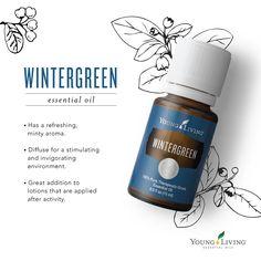 Young Living Essential Oils: Wintergreen | WWW.THESAVVYOILER.COM