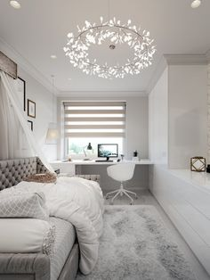 15 Gorgeous Small Bedroom Design for Teenage Girls Dream House Room Design Bedroom, Small Bedroom Designs, Small Room Design, Teenage Girl Bedroom Designs, Boy Bedrooms, Teenage Girl Bedrooms, Cute Bedroom Ideas, Room Ideas Bedroom, Small Room Bedroom