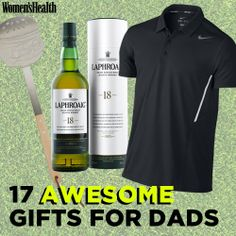 17 Awesome Gifts for Dads http://www.womenshealthmag.com/life/fathers-day