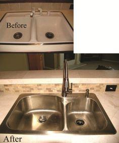 I have kitchen sink envy!