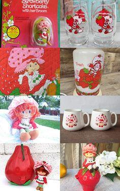 1980s Childhood, Childhood Memories, Retro Toys, Vintage Toys, Strawberry Pictures, Short Cake, Strawberry Shortcake Doll, Pixi, Ol Days