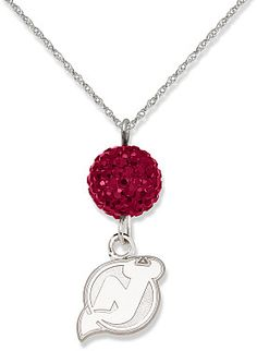 New Jersey Devils Necklace