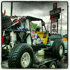 Offtoad ultra4 racer going to Dirt Riot in Badlands IN.