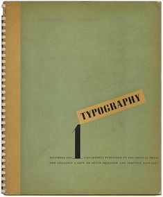 TYPOGRAPHY 1 – 8 Robert Harling [Editor] with James Shand and Ellic Howe