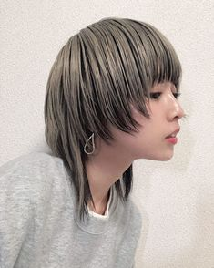 Androgynous, Cut And Color, My Hair, Bangs, Cool Hairstyles, Short Hair Styles, Hair Cuts, Hair Color, Hair Beauty