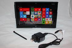 Lenovo ThinkPad Tablet 2 64GB Wi-Fi 10.1in - Black Slim Case and AC Cord