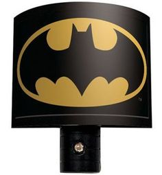 Night light features the Batman bat-signal. Will bring a soothing glow to any child's room. Automatic light sensor turns light on and off. Batman Room, Superhero Room, Boys Night Light, Night Lights, Batman Bathroom, Batman Signal, Paisley, Batman Collectibles, Batman Gifts