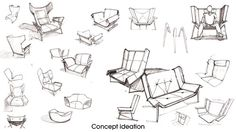 Deca Lounge chair project by Larry Parker