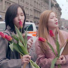 Mina & Dahyun in Switzerland Girl Day, Our Girl, South Korean Girls, Korean Girl Groups, Fancy Music Video, Twice Dahyun, Twice Kpop, Korean People, Im Nayeon