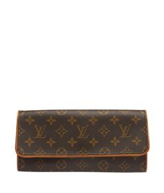Louis Vuitton Pochette Twin GM Monogram Coated Canvas Shoulder Bag   Cash  In My Bag 237ba24119