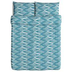 BLAD Duvet cover and pillowcase(s) - Full/Queen (Double/Queen) - IKEA ...