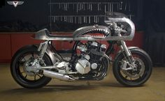 """Honda CB750 Cafe Racer """"Barracuda"""" by White Collar 