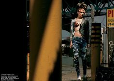 The Karmen Pedaru Interview Magazine August 2011 Shoot is Edgy #punk #fashion trendhunter.com