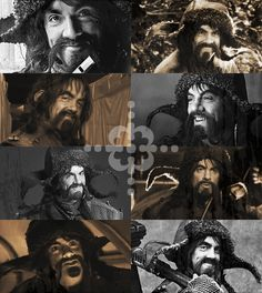 Bofur - kind and selfless dwarf with a super cool hat. Has to be one of my most favorite dwarves In the whole company