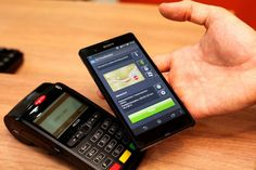 Sony Xperia Z u platebního terminálu