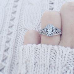 My  engagement ring :) Neil Lane 1.75 carat diamond. Vintage style