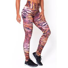 Designer Aiyza Jewelery- Warm Zebra Print Legging by RomanceUSA Workout Clothes- Women - Apparel - Activewear - Leggings LINK- https://aiyza.com/collections/warm-zebra-print-legging    FIT  Maximum Compression    RISE Super High   FABRIC CONTENT Suplex 360g - 88% Polyamide/12%Elastane   DETAILS This pair have the perfect amount of stretch and support with a maximum compression fit for a more flattering waistline slhouette.      Made In: Brazil Shipped From: United States Lead Time: 1 - 2…