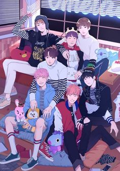 BTS FANARTS - Fanarts made for all the Armys we love BTS ♥ # Random # amreading # books # wattpad - Bts Chibi, Foto Bts, Jikook, Bts Bangtan Boy, Jimin, Taehyung Selca, Bts Art, Bts Fan Art, Bts Anime