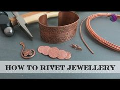 How to Rivet Jewellery - YouTube
