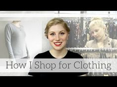 How I Shop for Sustainable & Ethical Clothing - YouTube