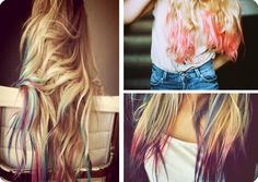 Tipped Out Hair – Get the Look of Dip-Dyed Hair Without the Commitment!