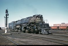 RailPictures.Net Photo: UP 4017 Union Pacific Steam 4-8-8-4 at Cheyenne, Wyoming by Dariusz Lachowicz