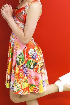 Snacks from Japan - Living Dead skater Dress