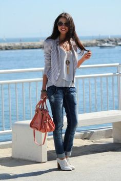 Casual Street Style Outfits Combinations 2015 For Western Girls (8)