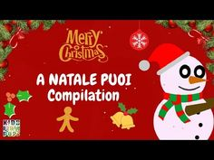 Best Christmas Songs in Italian and English - A Natale Puoi Compilation Best Christmas Songs, Canti, Recital, Snoopy, Christmas Ornaments, Holiday Decor, Youtube, Education, Kid Movies