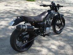 VANVAN by MFC Paris VAN-VAN Classic Full Black MFC Design - Préparation motos, peinture, design, tuning, Suzuki - Kawasaki