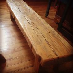 Repurposed 5' Barn beam bench