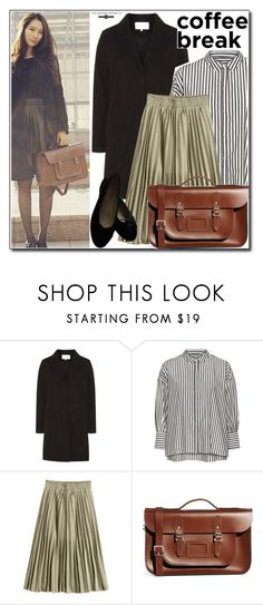 """""""Coffee Break with Leathersatchel"""" by leathersatchel ❤ liked on Polyvore featuring Dorothy Perkins, Nili Lotan and Chanel"""