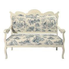 Vintage Toile Settee at Joss & Main