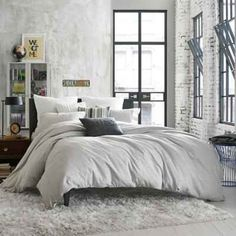 product image for Kenneth Cole Reaction Home Element Pillow Sham in Grey Mist