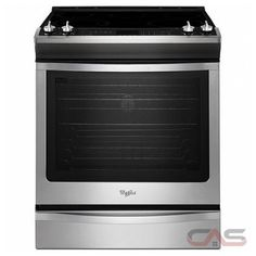in Stainless Steel by Whirlpool in Glenside, PA - cu. Front-Control Electric Range with True Convection Kitchen Hoods, New Kitchen, Kitchen Redo, Kitchen Ideas, Slide In Range, Cool Slides, Convection Cooking, Laundry Appliances, Electric Stove