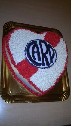 Torta de river plate Plates, Emoticon, Birthday, Desserts, Pie Cake, Pretty Cakes, Sweet And Saltines, 70s Party, Soccer Birthday Parties