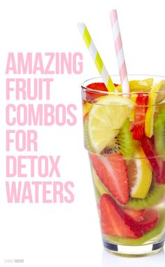 These are the best combos for your detox water!
