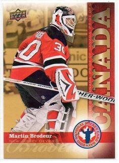 2010 NHL Upper Deck National Hockey Card Day #HCD8 - Martin Brodeur
