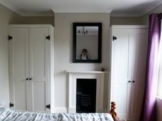Materials:Pax, Komplement clothes rail and drawers, MDF, 4x2,  Description:1. Build a frame to fit your space using 4x2 timbers- think about how you'l