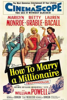 How to Marry a Millionaire | One of my favorite holiday-themed, seasonally appropriate, slightly unconventional films to watch during November/December. Want more to go on? I review my top 5 on the blog: onecriticalbitch.com/holiday-movies/