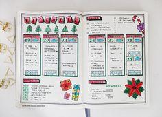 Bujo, Bullet Journal, Inspiration, Idea, Ideen, Bullet Journal Layout, Planner, Weekly, Weeklyspread, Bujoweekly, Wochenübersicht, Woche, Calender, Kalender, christmas, weihnachten